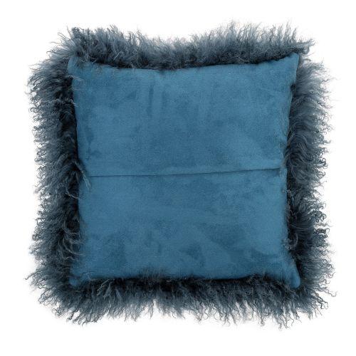 Kožešinový polštář Mongolian Turquoise