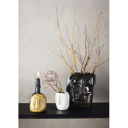 Keramická váza Cubist Face