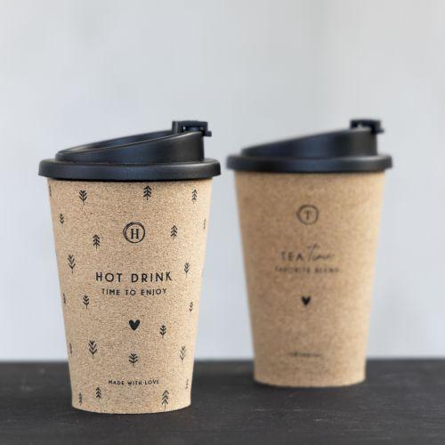 Šálek pro kávu s sebou Tea Time / Hot Drink 300 ml