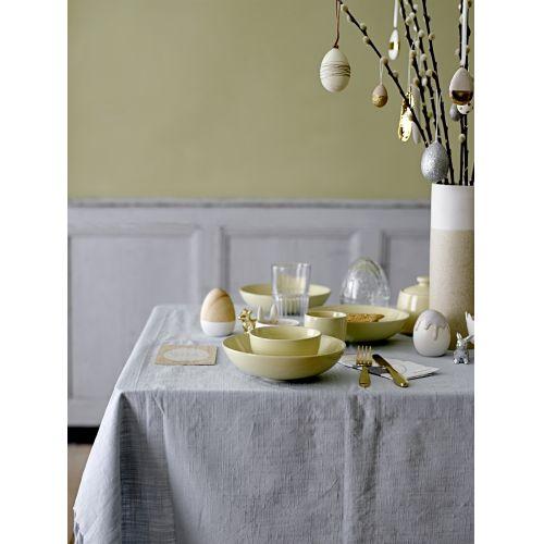 Závěsné velikonoční vajíčko Silver glitter