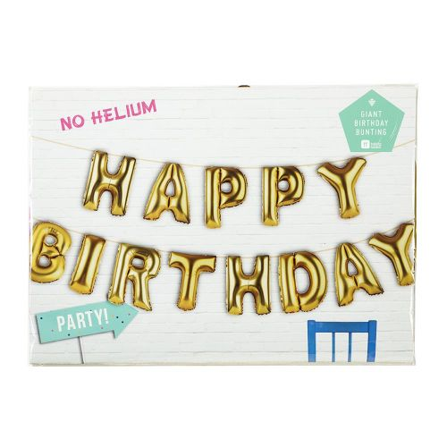 Nafukovací balónky HAPPY BIRTHDAY