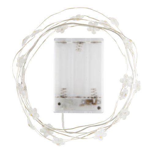 Světelný LED drátek s 20ti žárovkami Flowers