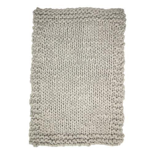 Pletený přehoz Grey 150x120cm