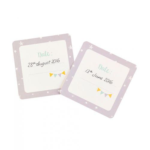Kartičky s milníky miminka Baby B - 24 ks