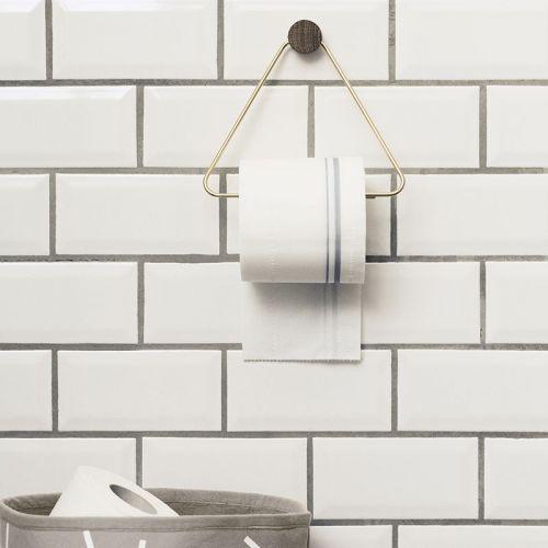 Mosazný věšák na toaletní papír Brass