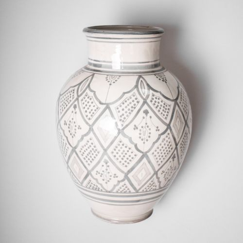 Keramická váza Morocco Grey