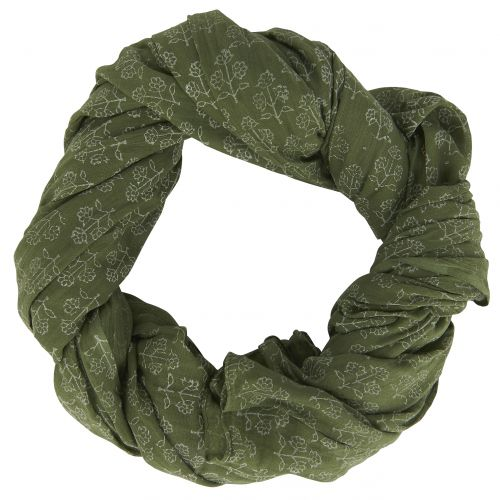 Bavlněný šátek Dark Flowers