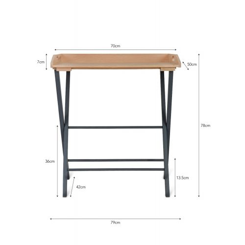 Skládací stůl Carbon Oak
