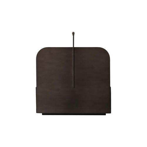 Kovový úložný box Maki Brown