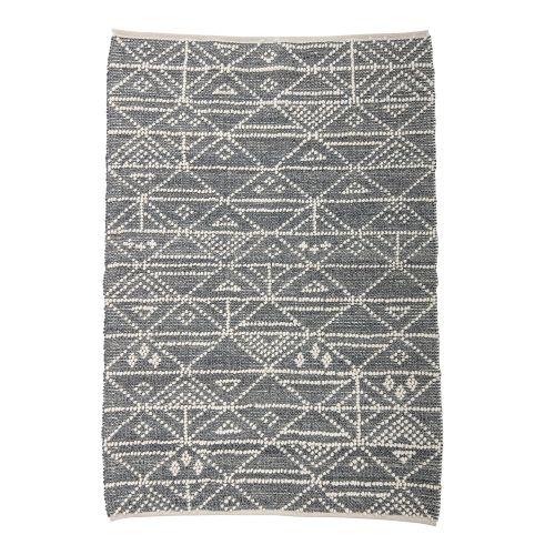 Vlněný koberec Linear Triangle Dots 190 x 120 cm