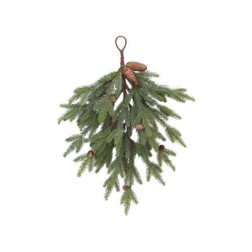 Dekorativní větev s šiškami Pine