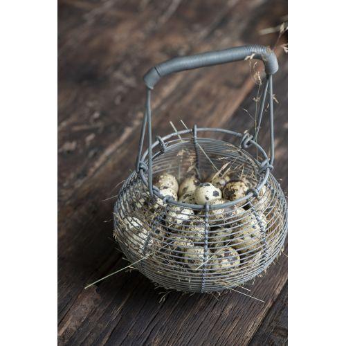 Dekorativní křepelčí vajíčka Natural - 20 ks