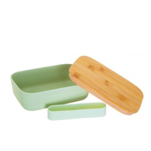 Bambusová dóza s víčkem Mint Green