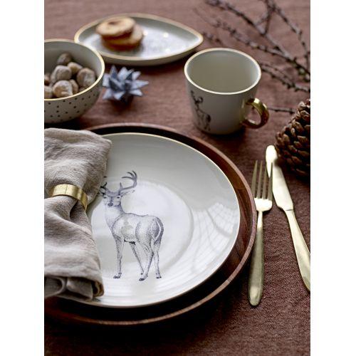 Keramický talíř Noel 25 cm