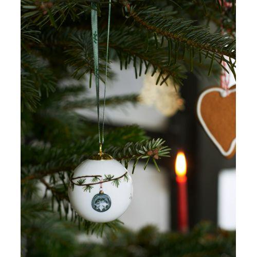 Porcelánová vánoční baňka Hammershøi Christmas 2020