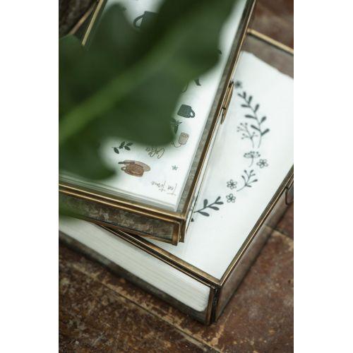 Papírové ubrousky Tea Coffee Time – 16 ks