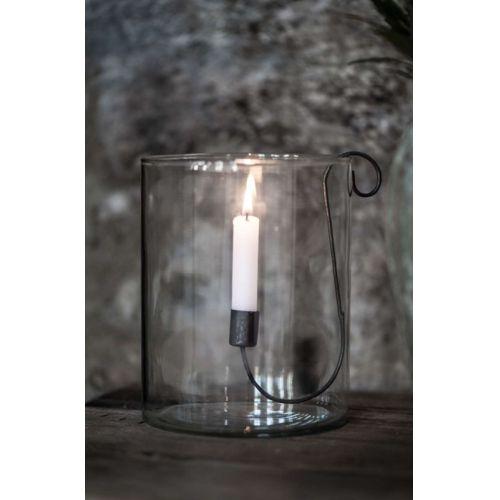 Skleněná váza Clear 14 cm