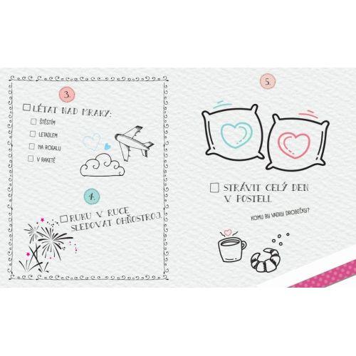150 věcí, které musíte společně zažít - Novomanželský Bucket List