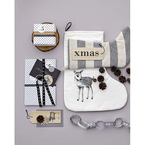 Designová papírová páska Black & White