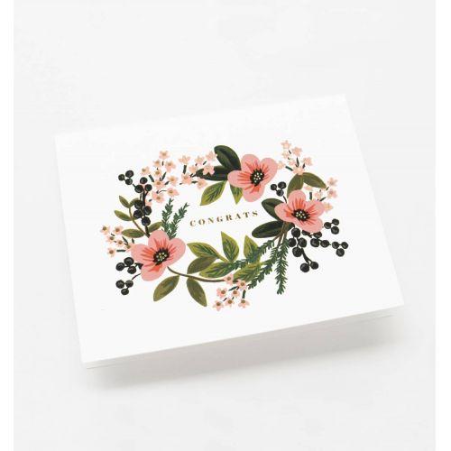 Přání s obálkou Congrats Bouquet