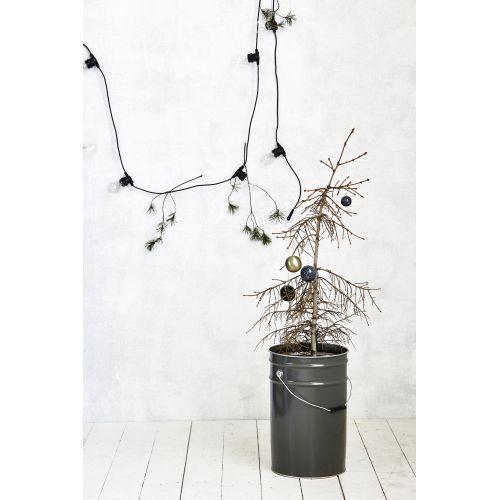 Světelný řetěz s 10ti LED žárovkami - black 8,4m