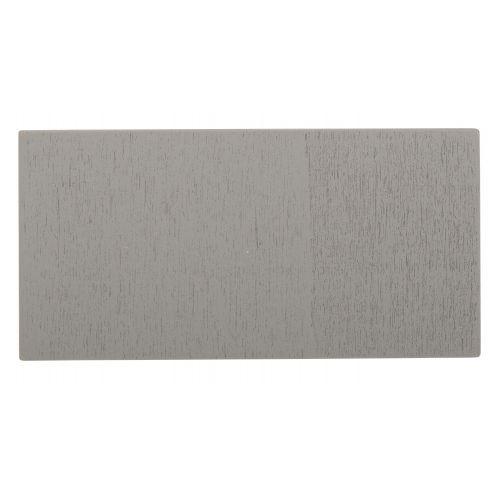 Dřevěná tabulka s kolíčkem - šedá