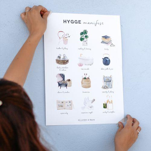 Plakát Bella Rose - Hygge Manifest (limitovaná edice - CZ)