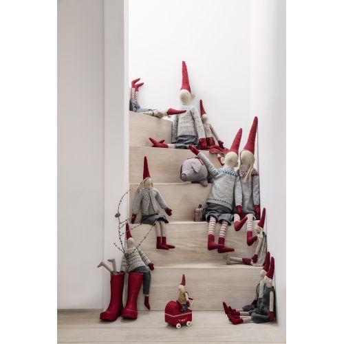 Vánoční skřítek Hopper Mega 100cm
