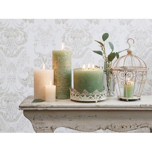 Svíčka Rustik Verte 15 cm