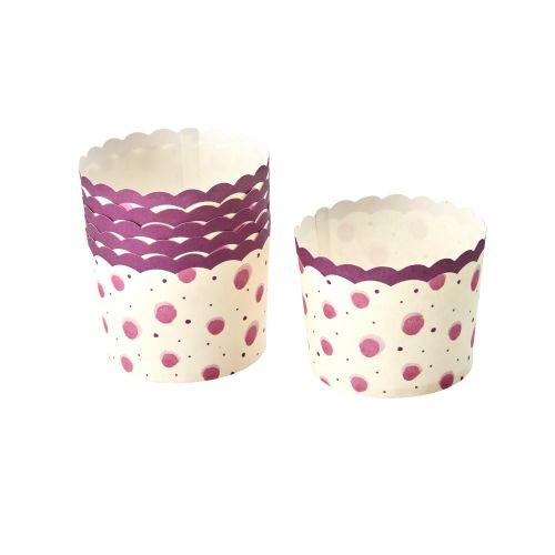 Papírové košíčky na muffiny Watercolor Splash