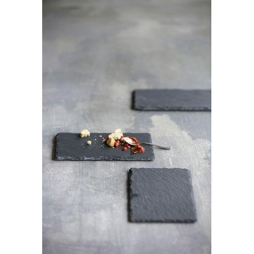 Břidlicová servírovací podložka Slate 20x12 cm
