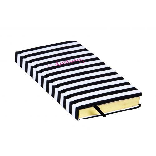 Plánovací notes Black stripe