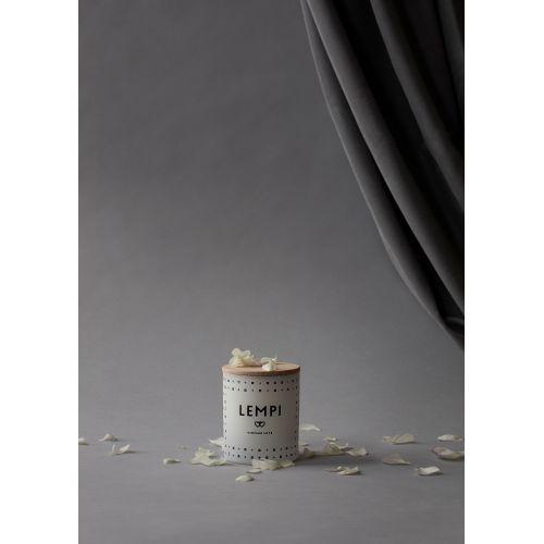 Vonná svíčka LEMPI (láska) 190 gr - s dřevěným víčkem