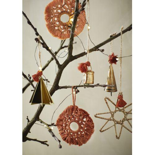Vánoční ozdoba Gold Christmass tree
