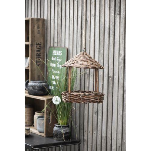 Proutěné zahradní krmítko Bird Feeder