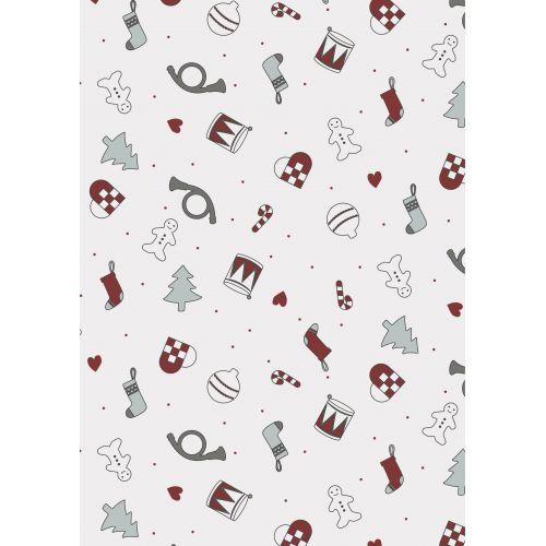 Dárkový balicí papír Christmas Wide - 10m