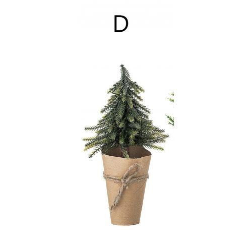 Vánoční dekorativní stromeček Green & Brown