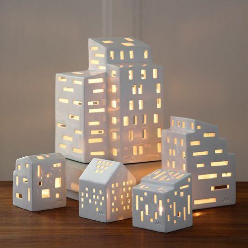 Lucerna domeček Urbania Light House Moderna 9,5 cm