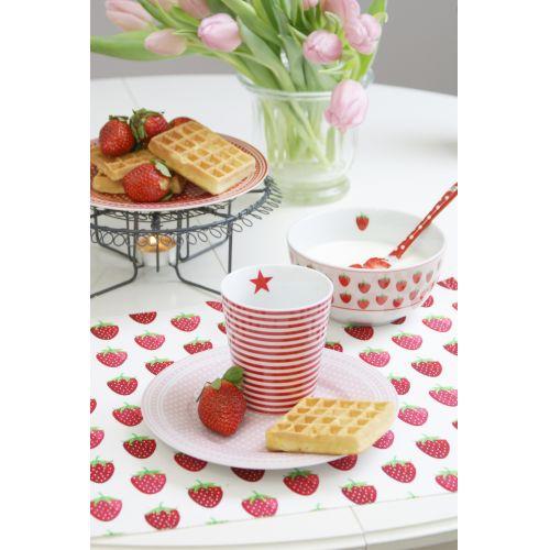 Bavlněné prostírání Strawberry