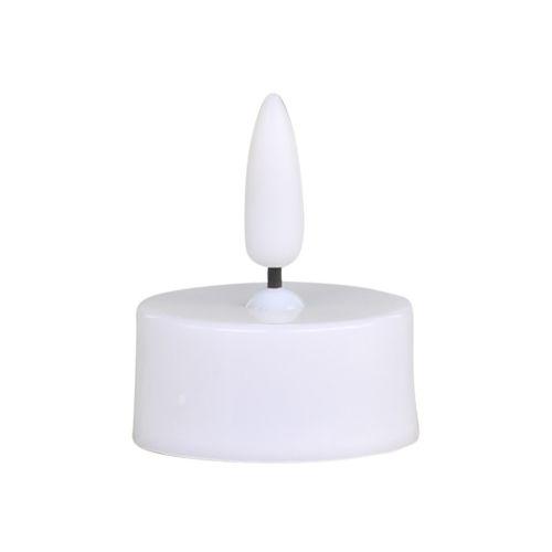 LED čajová svíčka s baterií White