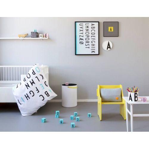 Povlečení Baby Letters Turquoise 70x100