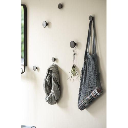 Kovový háček S-hook Dark Grey 10cm