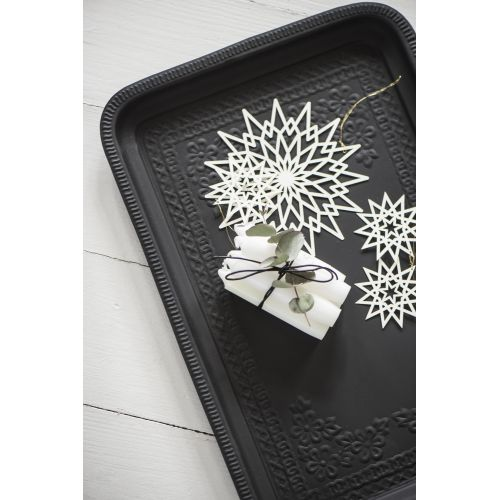 Vánoční papírová ozdoba Star 7 cm