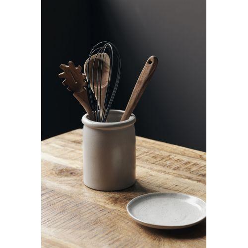 Porcelánová nádoba Pion Grey/White 15 cm