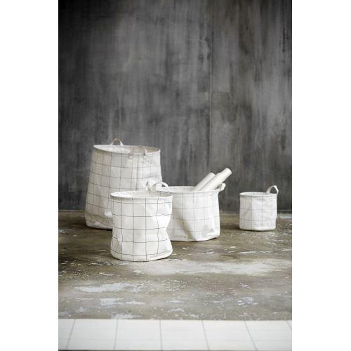 Textilní košík Squares 20 cm