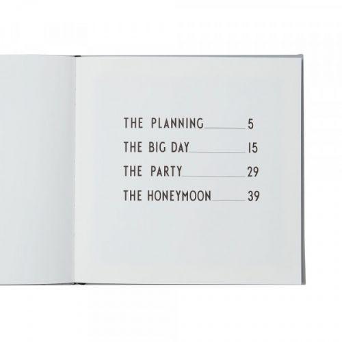 Svatební plánovací kniha Yes For Ever