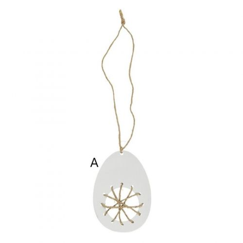 Závěsné dekorativní vajíčko – 3 druhy