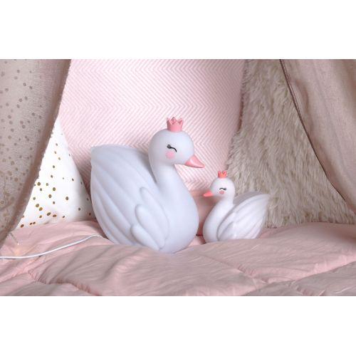 Dětské noční světýlko - White Swan