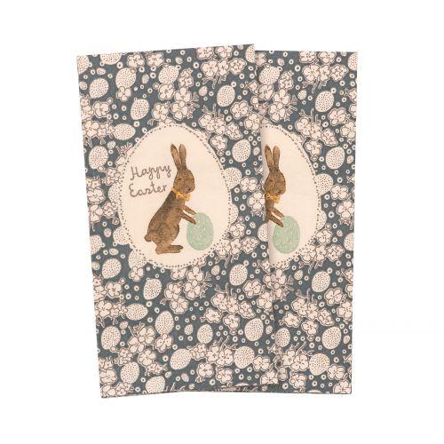Velikonoční papírové ubrousky Mille Oeufs