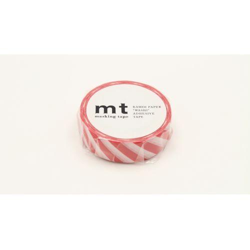 Japonská papírová páska Red Stripe